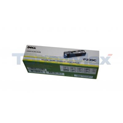 DELL 1320C TONER CARTRIDGE YELLOW 1K